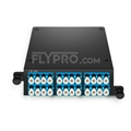 Picture of 2x MPO-12 to 12x LC Duplex, Type AF, 24 Fibers OS2 Single Mode FHD MPO Cassette