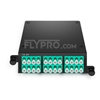 Picture of 2x MTP®-12 to 12x LC Duplex, Type A, 24 Fibers OM4 Multimode FHD MTP® Cassette