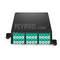 Picture of 2x MTP®-12 to 12x LC Duplex, Type AF, 24 Fibers OM4 Multimode FHD MTP® Cassette