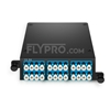 Picture of 2x MTP®-12 to 12x LC Duplex, Type A, 24 Fibers OS2 Single Mode FHD MTP® Cassette
