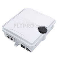 Picture of FDB-0212A 1x8 PLC Blockless Fiber Splitter Outdoor Distribution Box Without Pigtails and Adapters