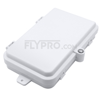 Bild von 4 Ports FTB-104C Wall Mounted Fiber Terminal Box Without Pigtails and Adapters