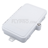 Picture of 4 Ports FTB-112 Wall Mounted Fiber Terminal Box Without Pigtails and Adapters