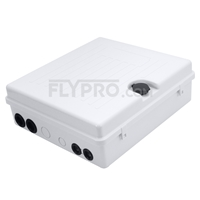 Picture of GFL-S-24D 1x24 Fiber Optical Splitter Outdoor Terminal Box As Distribution Box Without Pigtails and Adapters